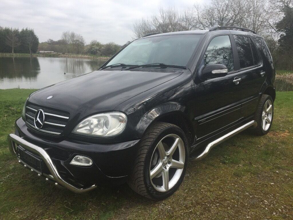 mercedes benz ml 270 cdi inspiration auto amg look a like 39 7 seater 2003 03 reg fsh low. Black Bedroom Furniture Sets. Home Design Ideas