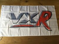 Vauxhall VXR corsa Astra vectra insignia workshop flag banner