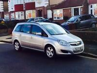 Vauxhall Zafira 1.6, 7 SEATER, New 12 Month MOT, Service History, Cheap 4 Insurance, Air Con