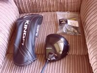 Cobra F7 driver regular + headcover and wrench