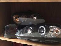Honda Civic EK Facelift Angel Eye Headlights EJ9 EK3 EK4 EK9