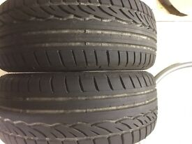 "Dunlop/Pirelli 18"" Runflats to suit BMW"