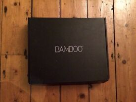 Bamboo Wacom Graphics tablet and pen
