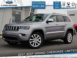 2017 Jeep Grand Cherokee LIMITED**CUIR*TOIT*CAMERA*BLUETOOTH**