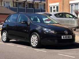 MUST SEE!! BARGAIN!! VOLKSWAGEN GOLF DIESEL HATCHBACK 1.6 TDI MATCH 2010 5 DOOR HPI CLEAR