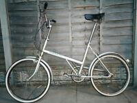 Old school triumph bicycle