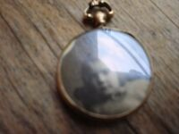 9ct Gold Double Picture Locket---Victorian