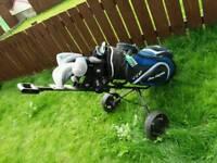 full set of Ben sayer golf clubs