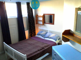 Small double room available for single occupancy. Saltdean.