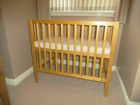 Ladybird Space Saver Cot - Excellent condition.