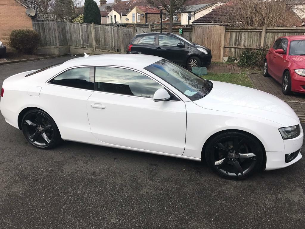 Audi a5 2008 white automatic dsg coupe in hounslow london gumtree - White audi a5 coupe for sale ...