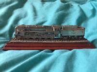 The evening star steam train model ornament. Royal hampshire 16cm long