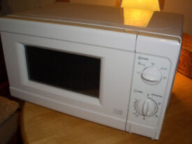 MICROWAVE in white