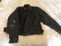 Leather Bikers Jacket old school