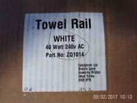 Towel Rail electric S Shape new