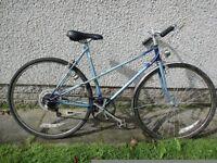 Raleigh Wisp retro vintage ladies bike 700 wheels 21 inch frame 5 gears
