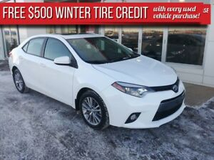 2015 Toyota Corolla LE UPGRADE***$500 winter tire credit***