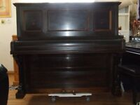 PIANO OVERSTRUNG IN TUNE RALPH OF LONDON CIRCA 1930 VERY GOOD CONDITION FOR AGE DELIVERY AVAILABLE