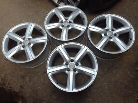 Audi A4, A6 genuine Sline 19 alloys
