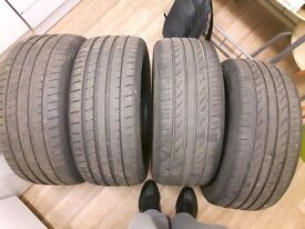 Summer tires 245/45/18 very good condition.