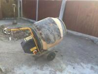 230v master mix, cement mixer