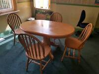 Table &4 chairs