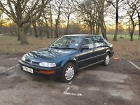 48,000 genuine miles Honda Concerto 1.4 Automatic 1993 5 door Hatchback