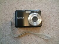 Fujifilm A100 compact camera, black, great condition, fully functional, only missing memory card.
