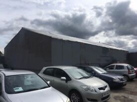 WAREHOUSE TO LET FOR STORAGE