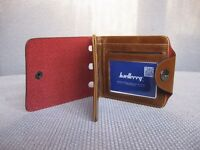 Leather men's wallet / purse / card holder
