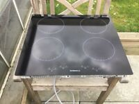 Black Ceramic Hob Touch Control In Excellent Condition Can Deliver.
