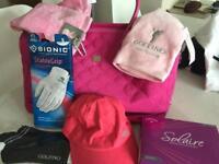 Golf bag & accessories