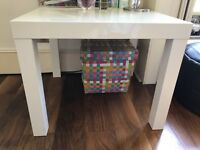 PERFECT CONDITION white high gloss bedside tables x 2