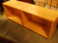 WOODEN TV UNIT FOR BIG TV WITH SHEVELS