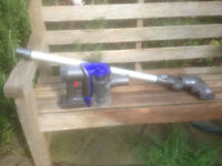 Dyson handheld cordless vacuum cleaner with extension pole and powered head * Cleaned & refurbished