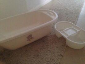 Teddy toy box bath set