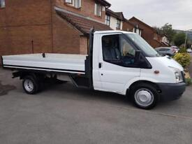 FORD TRANSIT, 2011, LWB, DROPSIDE/PICK UP, cheap van, £5495 NO VAT