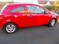 Vauxhall Corsa 1.3 CDTi ECOFLEX Active RED IDEAL FIRST CAR