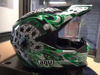 AGV AX8 Motorcycle Helmet motocross