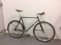 FOFFA bike Single speed / Fixie - Gray colour - 2016 model - 5 month old - FIRST OWNER - Size L 59cm