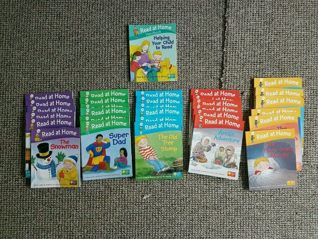 Read at home booksin Newcastle under Lyme, StaffordshireGumtree - Levels 1 to 5 and parent book for biff chip and kipper read at home books. Good condition