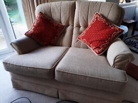 3 piece suite. 3 seater, 2 seater & armchair