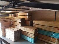 Green & Brown Treated Sleepers - 100 x 200 @ 2.4mt