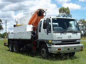 Hino FM 6x4 EWP(cherry picker)cab/chassis truck turbo diesel Inverell Inverell Area Preview