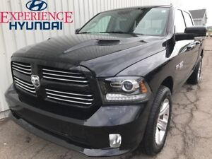 2017 Ram 1500 Sport 4x4 V8 LARGE CREW CAB PICKUP WITH FACTORY WA