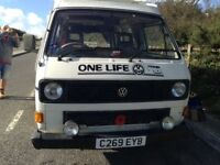 VW camper van petrol manual water cooled