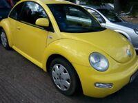 VW BEETLE 1.6 PETROL 3 DOOR HATCH £699