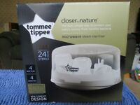 Tommy Tippee Steriliser Closer to Nature - Brand New