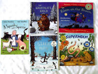 5 x Julia Donaldson Books (Gruffalo's child, stick man etc Used)