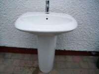 bathroom sink + tap